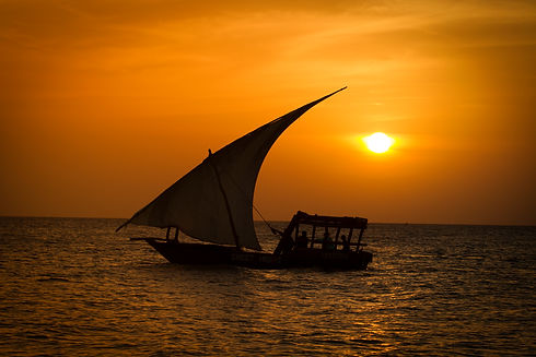Sunset cruise with wooden boats (Dhow) D