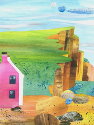Pink House, West Bay
