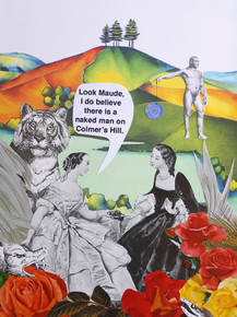 Naked man, Colmer's Hill