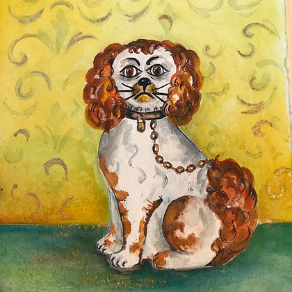 Wally Dog - Original Watercolour Painting