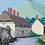 Thumbnail: Duck Street, Colmer's Hill  A3 Giclee Print