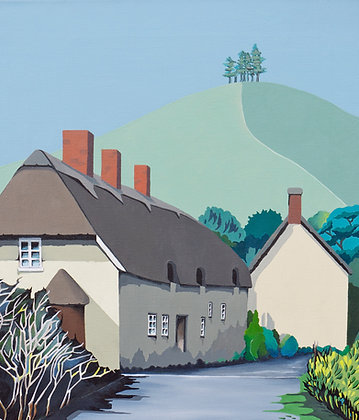 Duck Street, Colmer's Hill  A3 Giclee Print