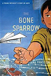 The Bone Sparrow, US edition, soft cover