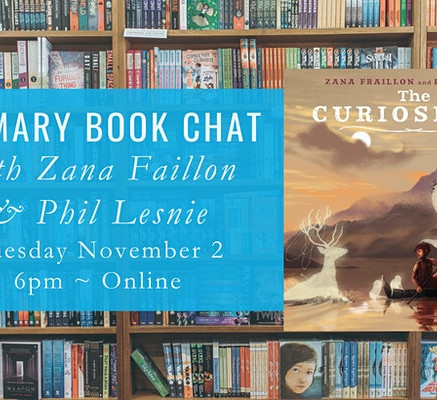 The Little Bookroom Book Chat!
