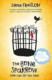 The Bone Sparrow, UK edition, soft cover