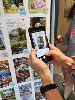 Aencrage diffusion de brochures touristi