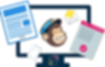 Mailchimp training, newsletter, direct marketing, copywriting, customers, landing page