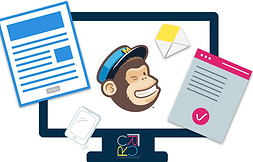 Mailchimp training, newsletter, direct marketing, copywriting, customers, landing page