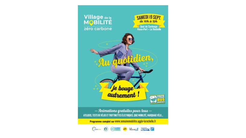 L'agglomération de La Rochelle choisit Aencrage pour promouvoir son village mobilité