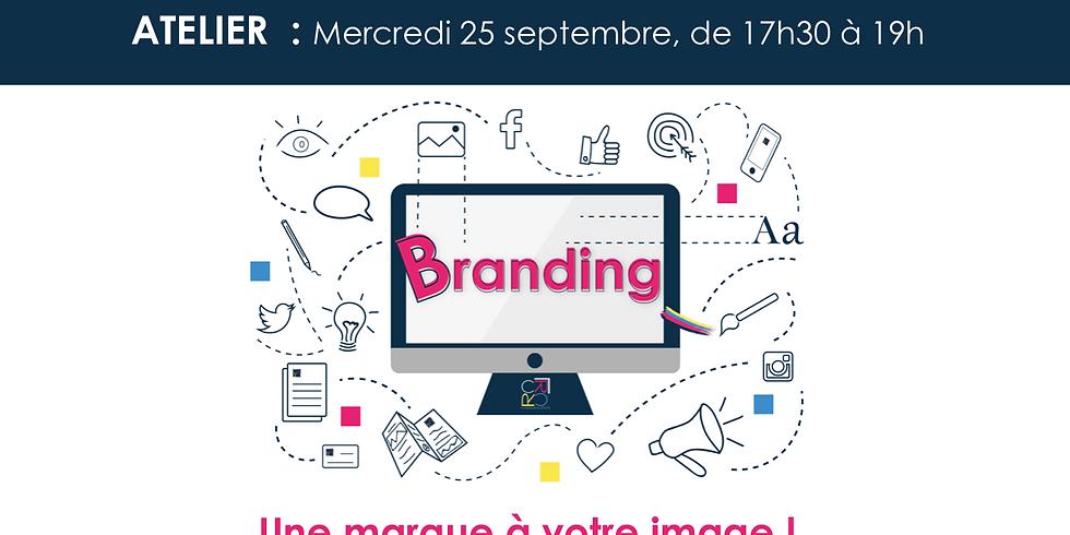 Atelier Branding : Une marque à votre image !