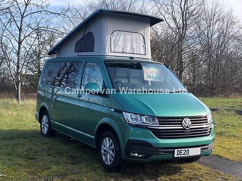 2020 SWB VW T6.1 4 Berth Campervan 2.0 TDI 110PS Manual - Highline