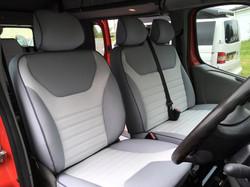 Vauxhall Vivaro Seats