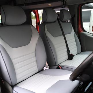 Vauxhall Vivaro Front Seats