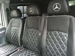 Mercedes front seats
