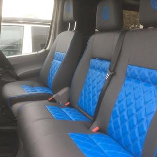 Volkswagen Crafter Front Seats