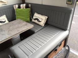 Motorhome upholstery