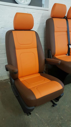 VW T5 front seat