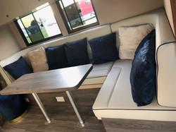 U -Shaped Horsebox Seating