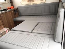 Bespoke motorhome cushions