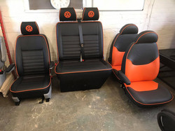 Ford Gallaxy front seats