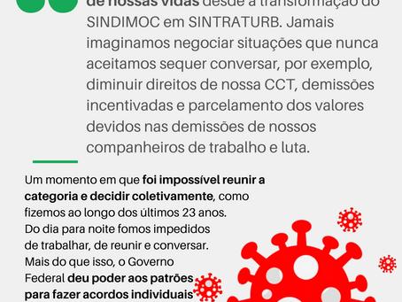 RODÃO ESPECIAL CORONACRISE