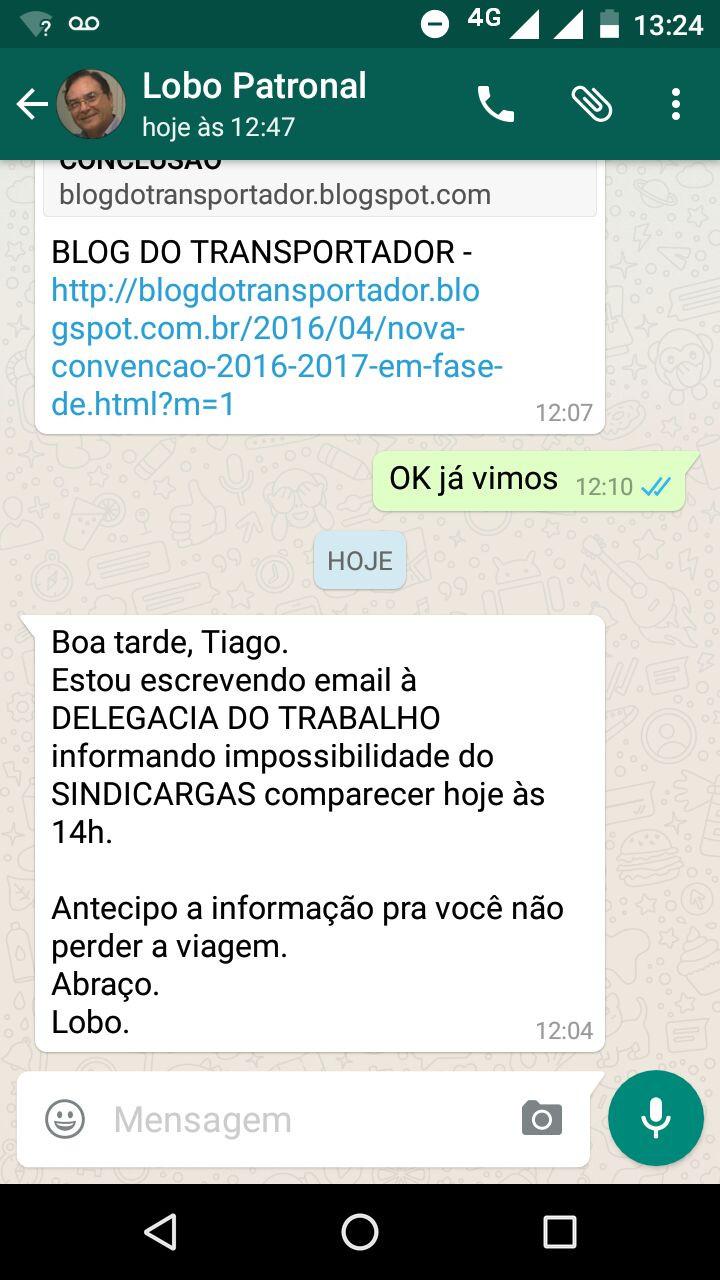 TELA COM A DESCULPA ESFARRAPADA