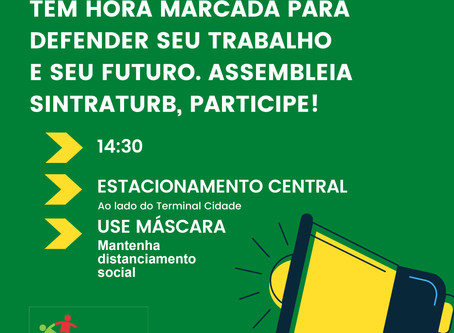 ASSEMBLEIA DEFINIRÁ FUTURO DA CATEGORIA