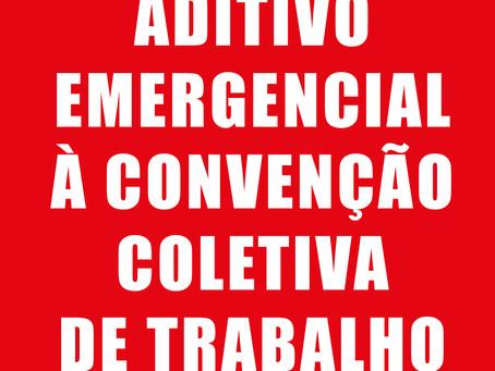 PATRÕES APRESENTAM SEGUNDO ADITIVO EMERGENCIAL À CONVENÇÃO COLETIVA DE TRABALHO 2019/2020