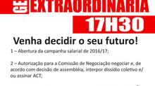 Assembleias para pauta de reivindicações e fundação de Federação
