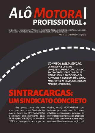EDIÇÃO DO BOLETIM ALÔ MOTORA! ESPECIAL CCT CONCRETEIRAS
