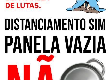 AMANHÃ, NÃO ESQUEÇA SUA PANELA DE LUTAS