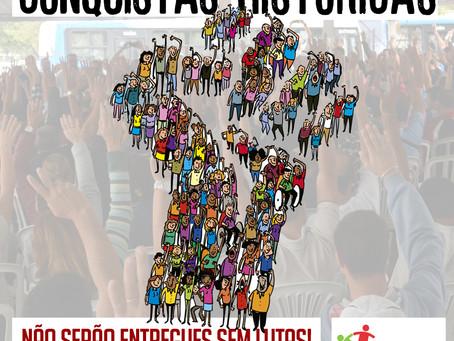 1° DE MAIO: DIA INTERNACIONAL DO TRABALHADOR, DIA DE LUTO, DE LUTA E COMEMORAÇÃO