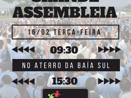 NOTA Nº 51: ASSEMBLEIA, NOVO HORÁRIO DE ATENDIMENTO NA SEDE ADMINISTRATIVA, TÍQUETES E MAIS...