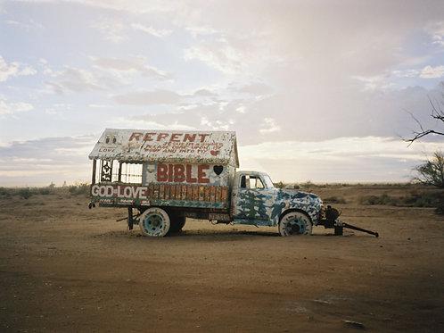 """'Jesus Bus' (11""""X9"""" Print)"""