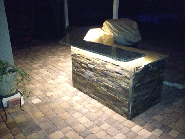 Outdoor Kitchen/Pavers