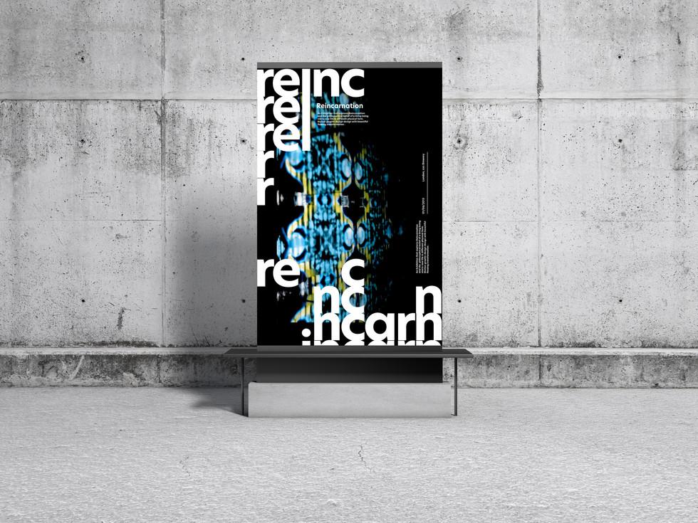 Concrete Environment Display Poster Mock