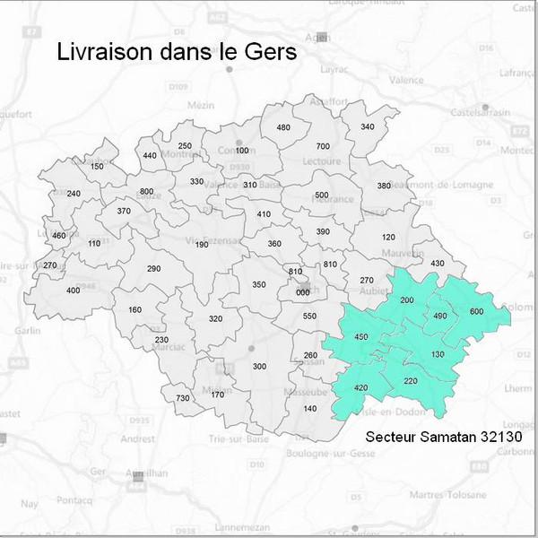 Livraison dans le Gers