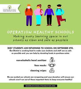Operation Healthy Schools