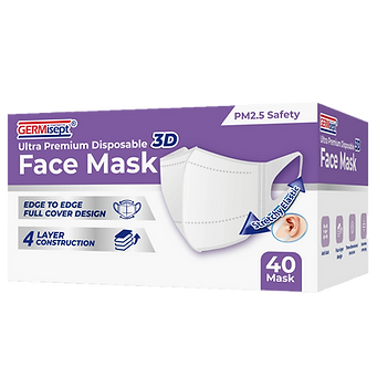 germisept 3d face mask