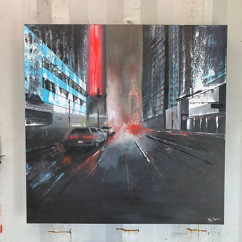 Downtown Lights   30 x 30