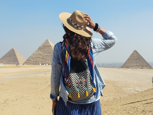 The Great Pyramids of Giza..!!