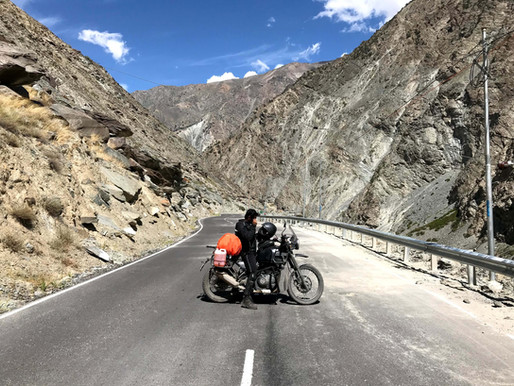 Lost soul found in Spiti Valley - a solo bike trip to remember..!!