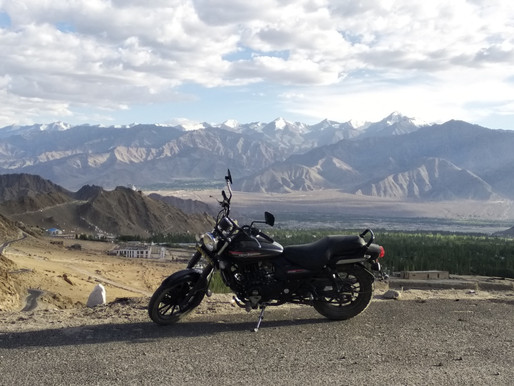 Exploring Ladakh on a Solo Bike Ride..!!