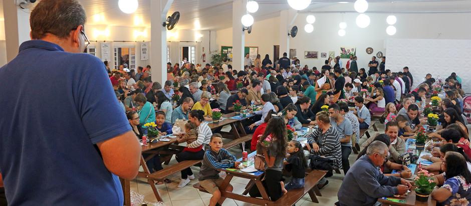 Bingo reúne cerca de 800 pessoas em prol do Natal Solidário
