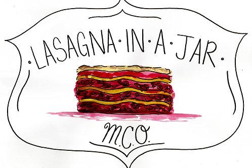 Lasagna In A Jar