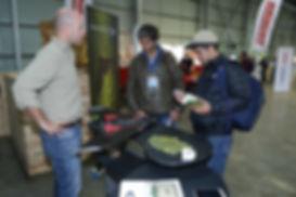 Feria agrícola drone