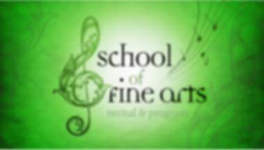 School of Fine Arts Recital Program.png