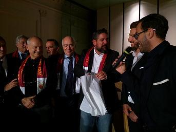 serata gala UTR 25 ott 2018-Roma Club Quirinale