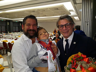 Serata conviviale UTR Roma club Quirinale