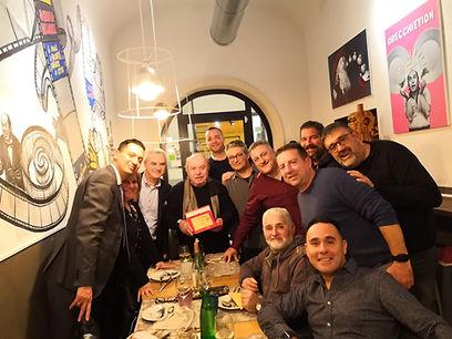 cena consiglio direttivo roma club quirinale